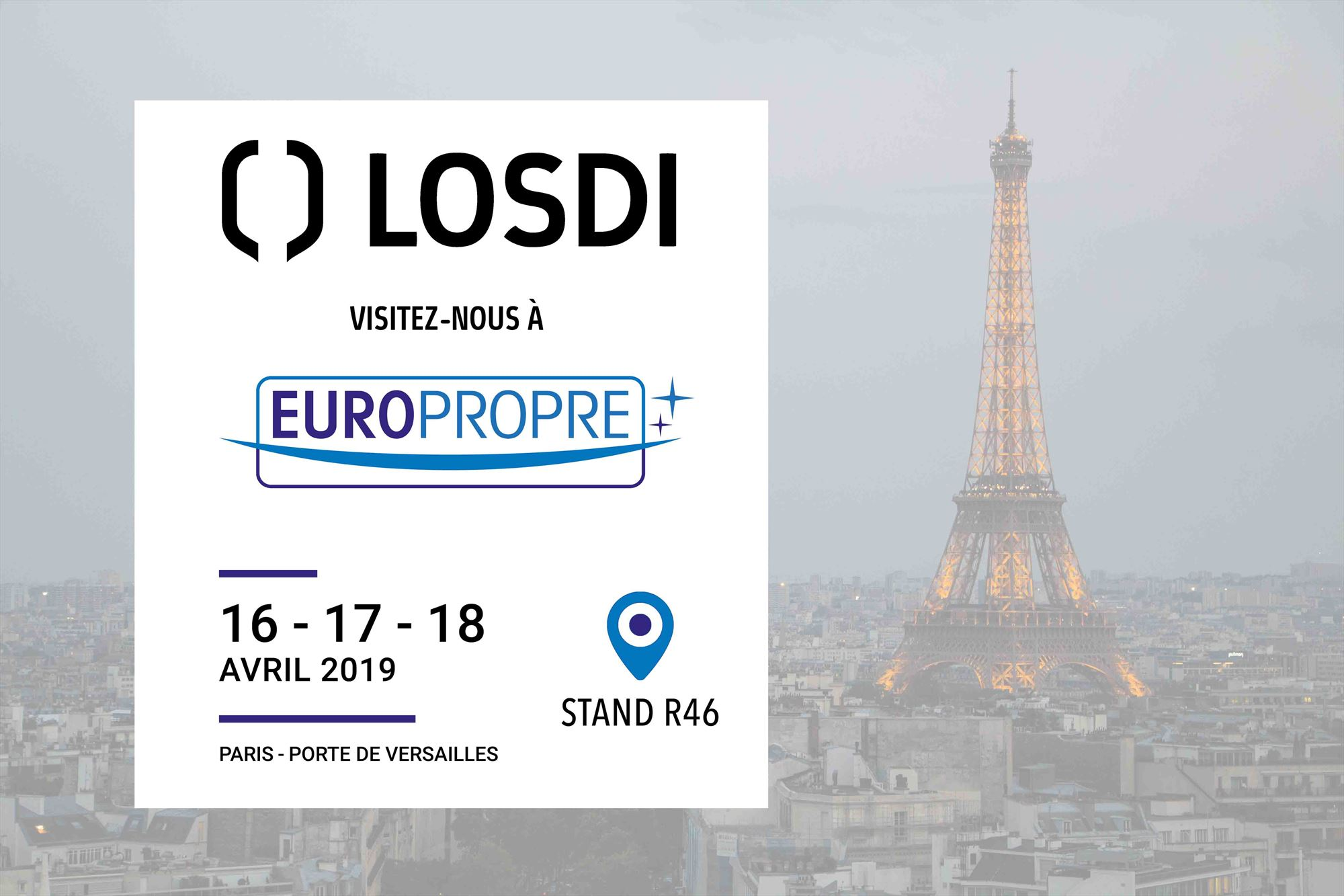 Visit us at Europropre París