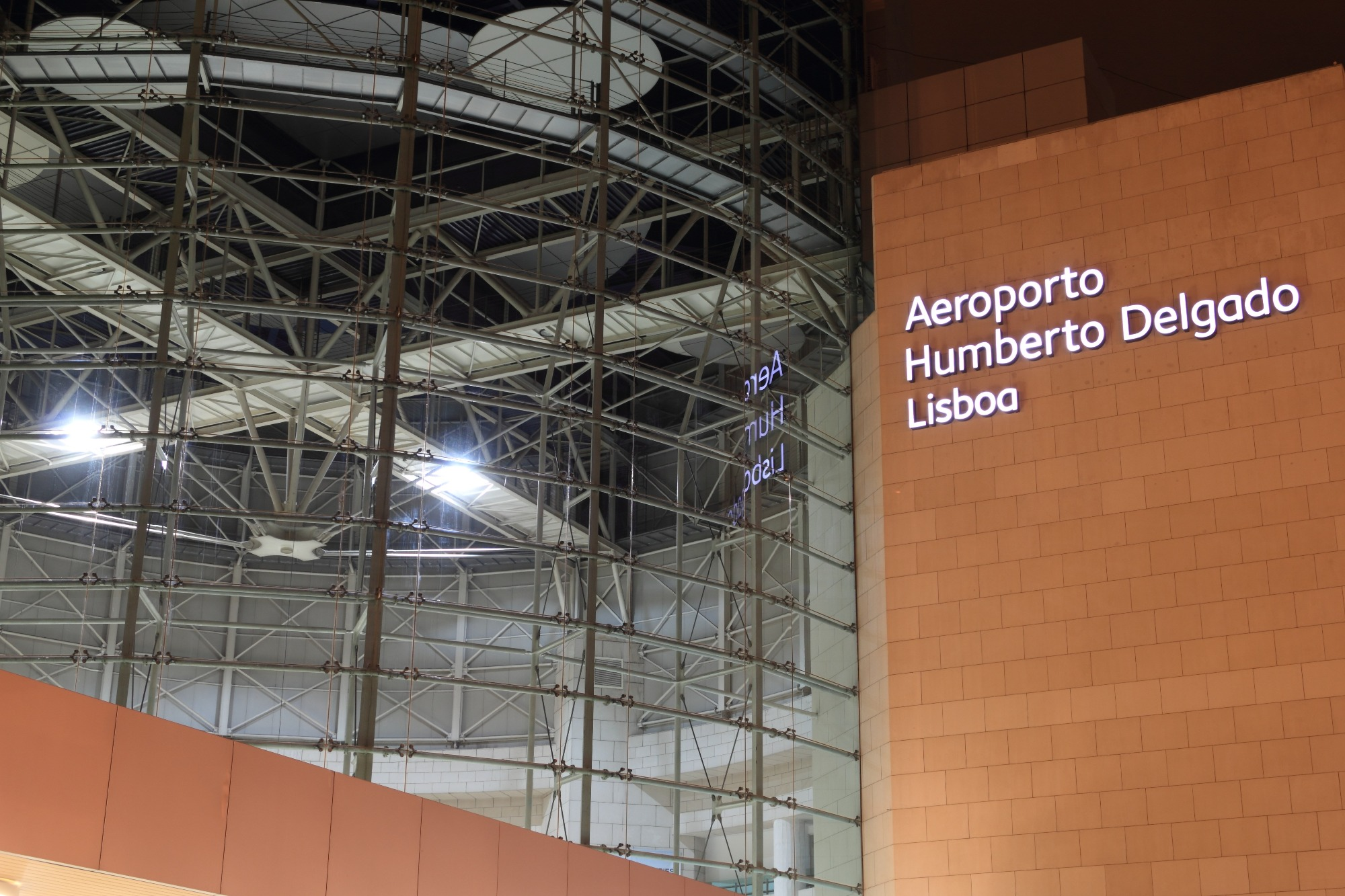 Airport of Lisbon, Portugal