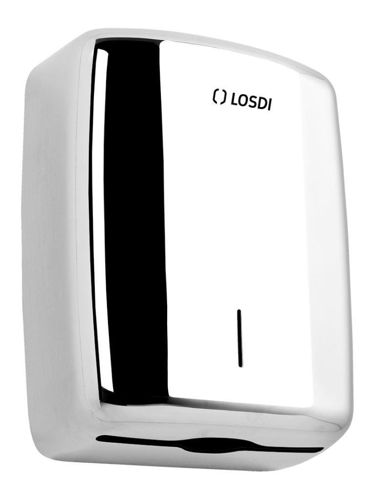 Inox Brillo Losdi CO-207-I Portarrollos Acero